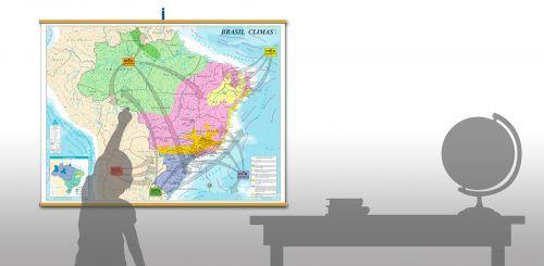 Conheça nossa linha de Mapas Escolares