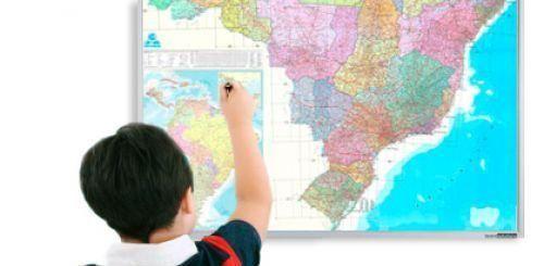 Conheça nossa linha de Mapas Didáticos
