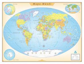 Ref.: 096 Mapa-Múndi Vintage