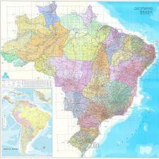 Brasil Geoeconoviário    2,28 x 2,28 m