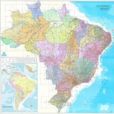 Brasil Geoeconoviário    2,22 x 2,28 m