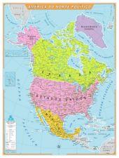 América do Norte Político