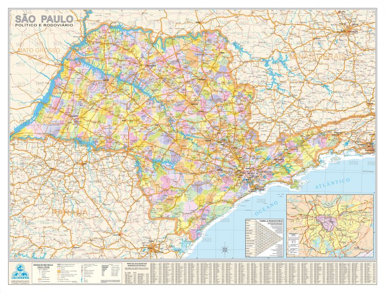 Ref.: 511-São Paulo 117x89cm