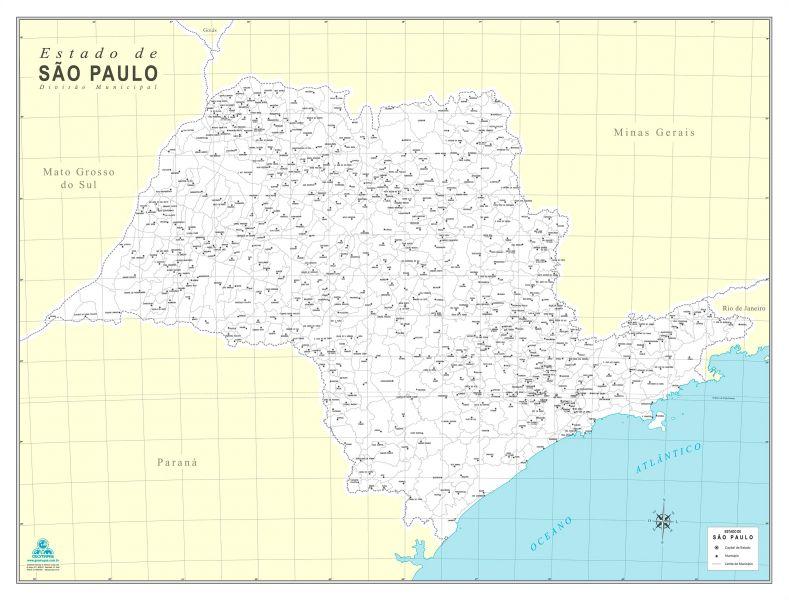 Estado de São Paulo Municípios