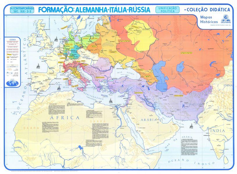 Formação: Alemanhã, Itália e Rússia