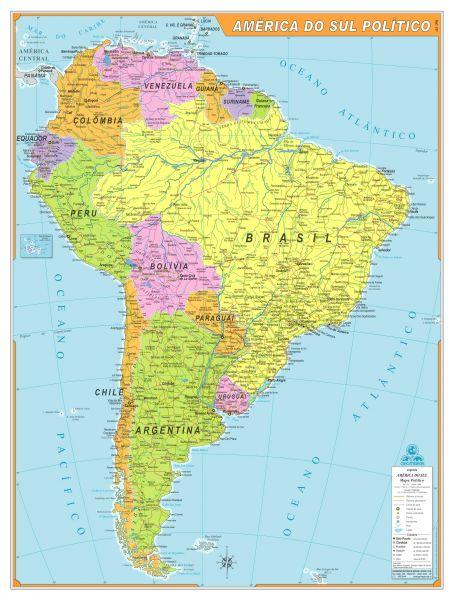 América do Sul Poliítico