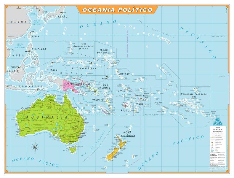 Oceania Político